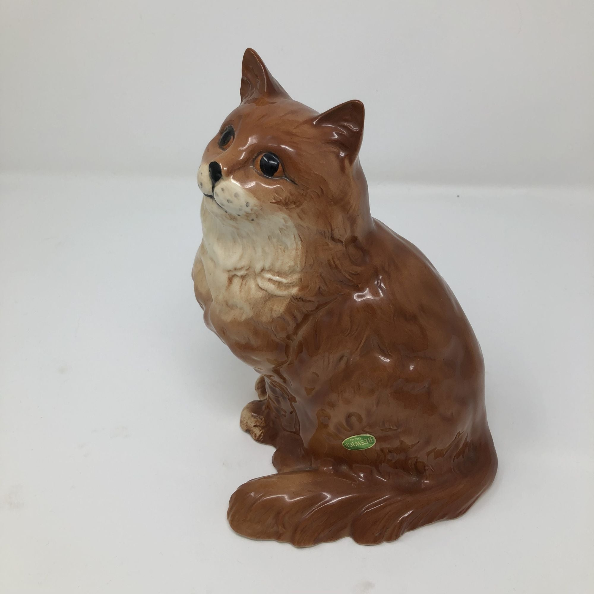 Vintage Beswick Ginger Cat Model 1867