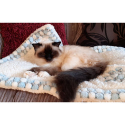 Luxury Snowflake Pet Blanket