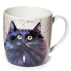 Kim Haskins Black Cat Mug