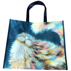 Kim Haskins Cat Shopper Bags, pack of 2
