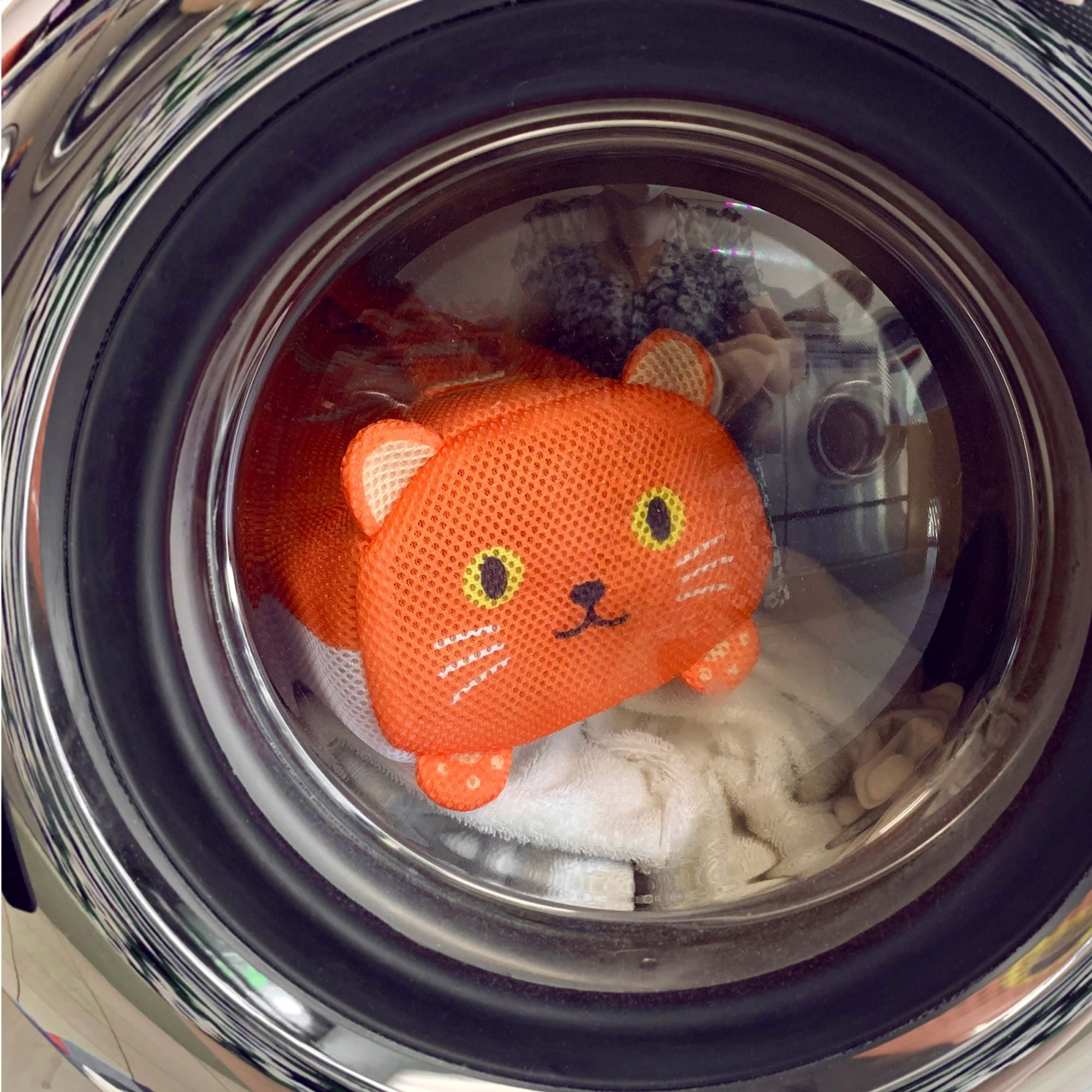 Ginger Kitty Laundry Bag
