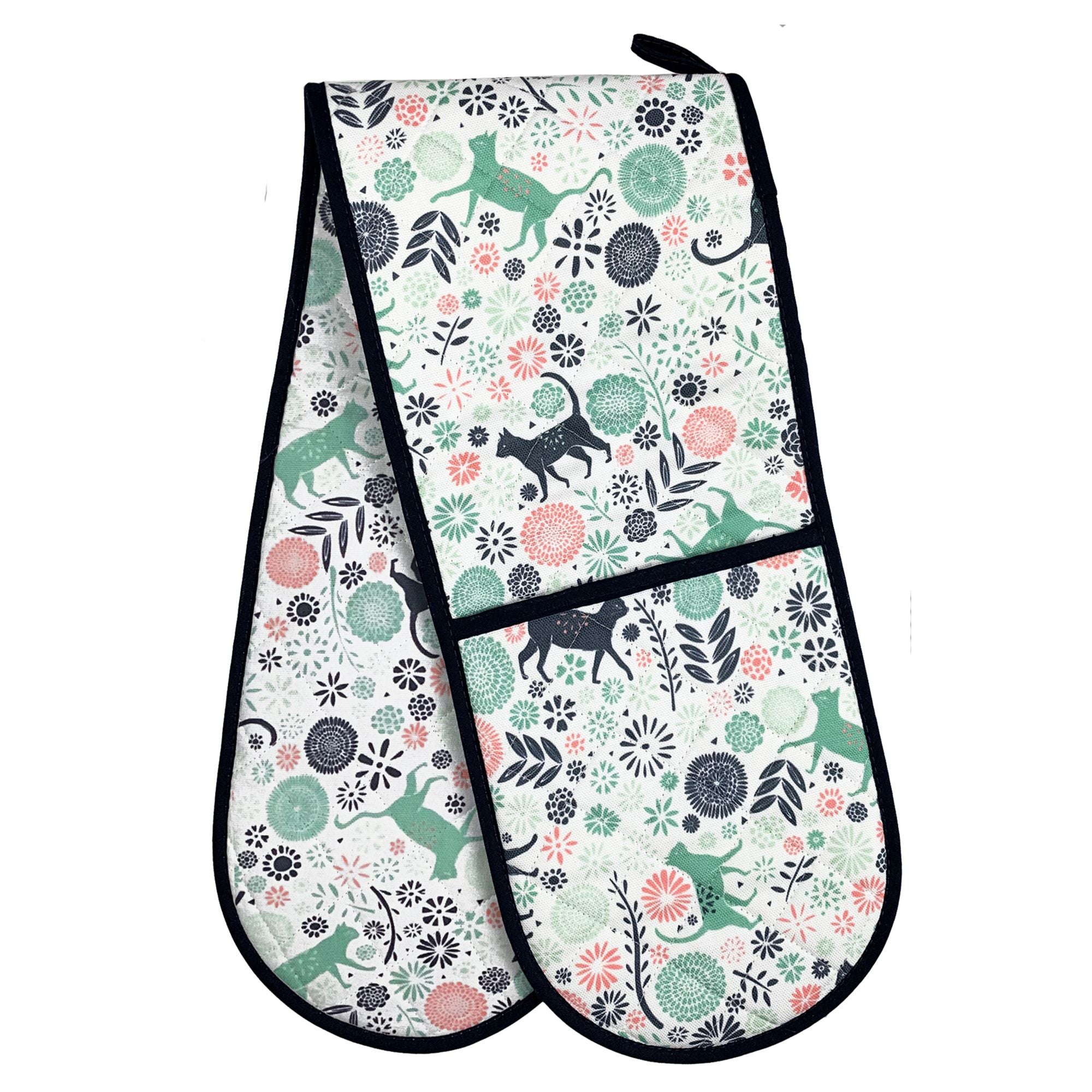 KItchen Cats Double Oven Glove