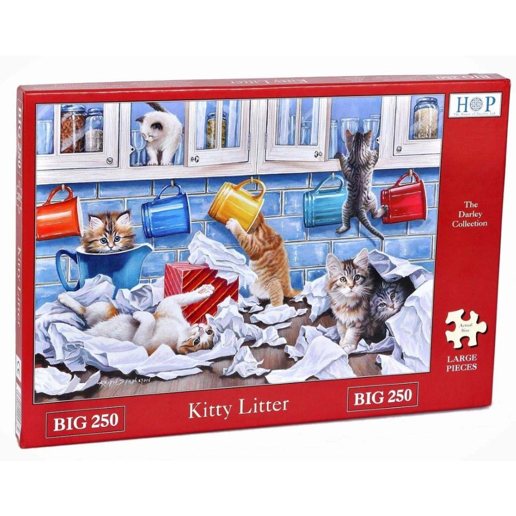 Kitty Litter 250 XL Piece Jigsaw