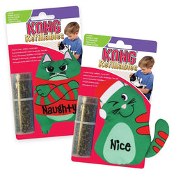 KONG Refillable Catnip Cat Toy, Nice