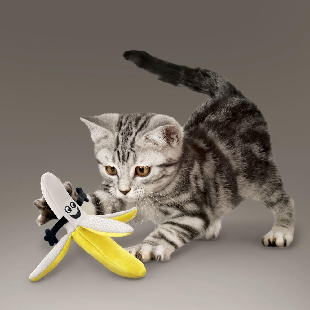 KONG Better Buzz Banana Catnip Cat Toy
