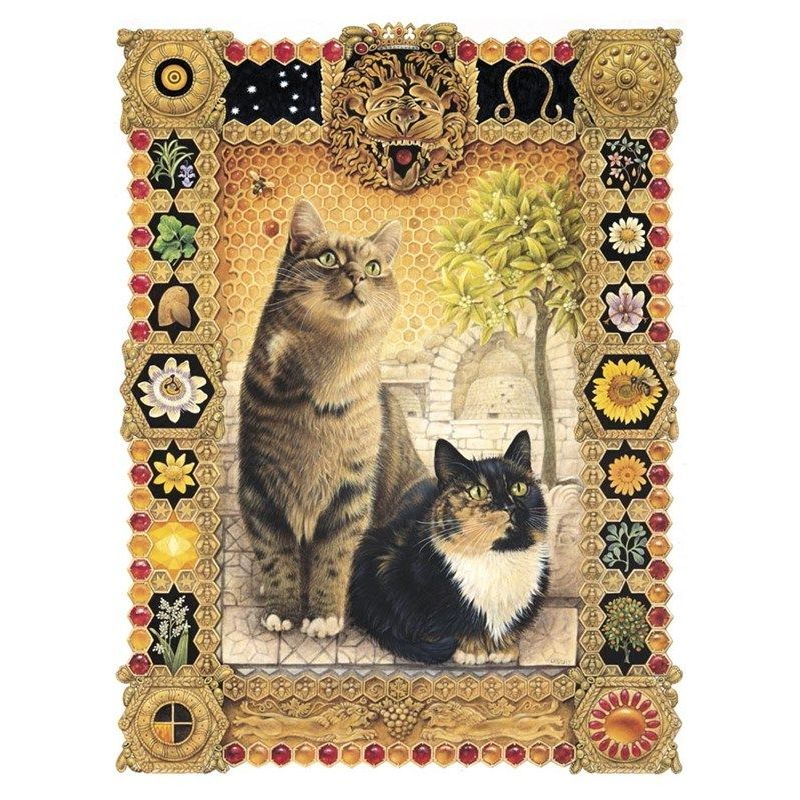 Lesley Anne Ivory Card Leo