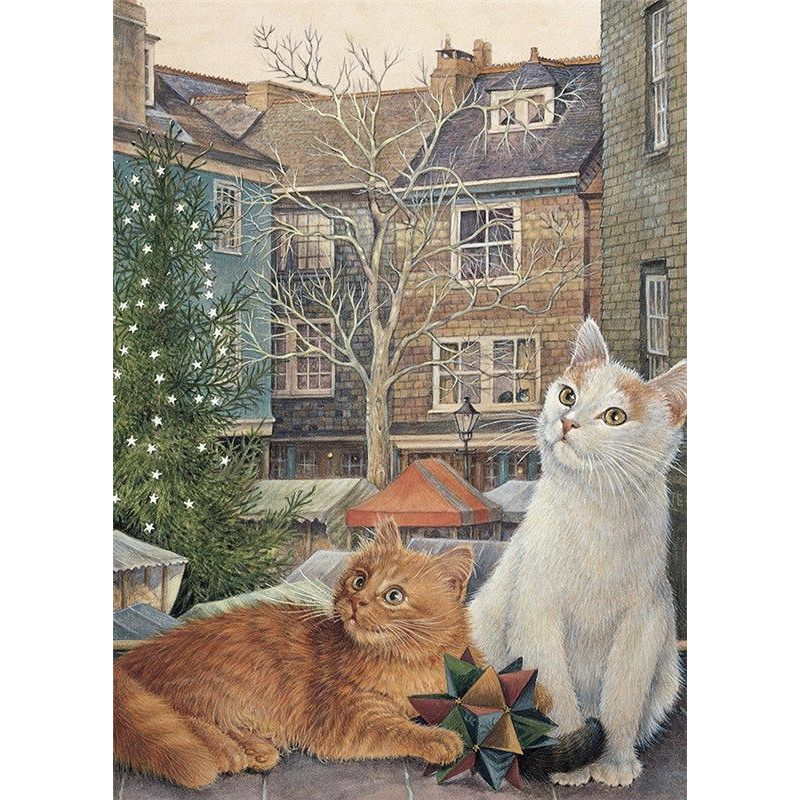 Lesley Anne Ivory Christmas Cards, pack of 3