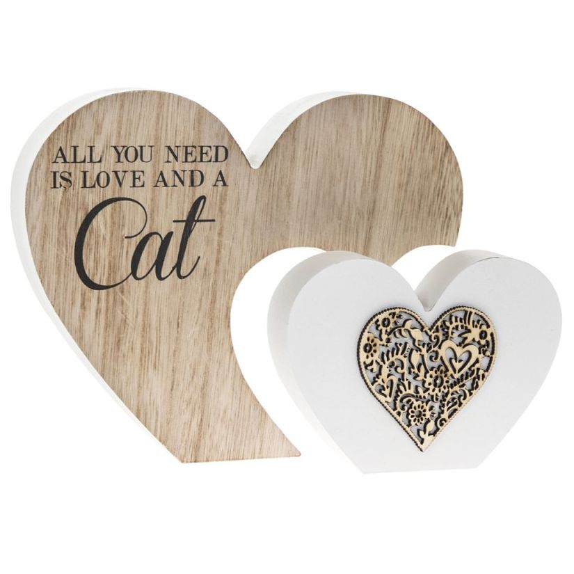All you need is Love and a Cat Block