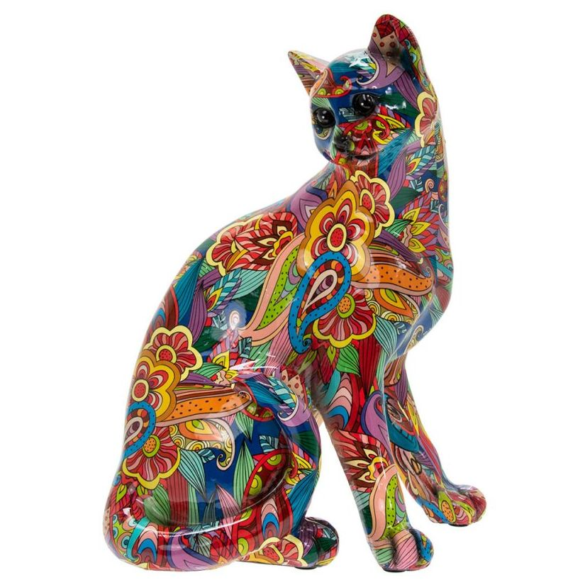 Groovy Art Large Sitting Cat