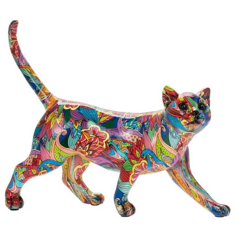 Groovy Art Cat Walking
