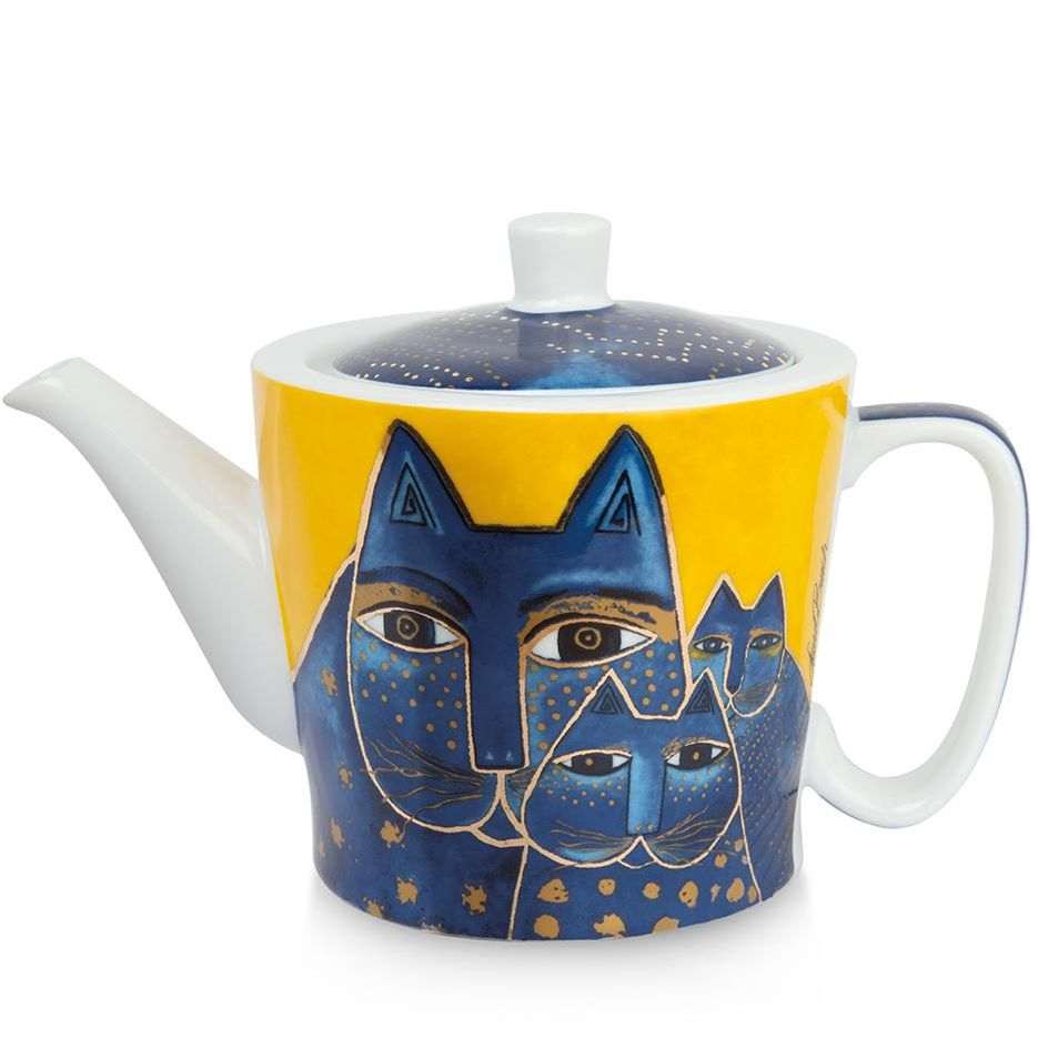 Laurel Burch Cats Teapot