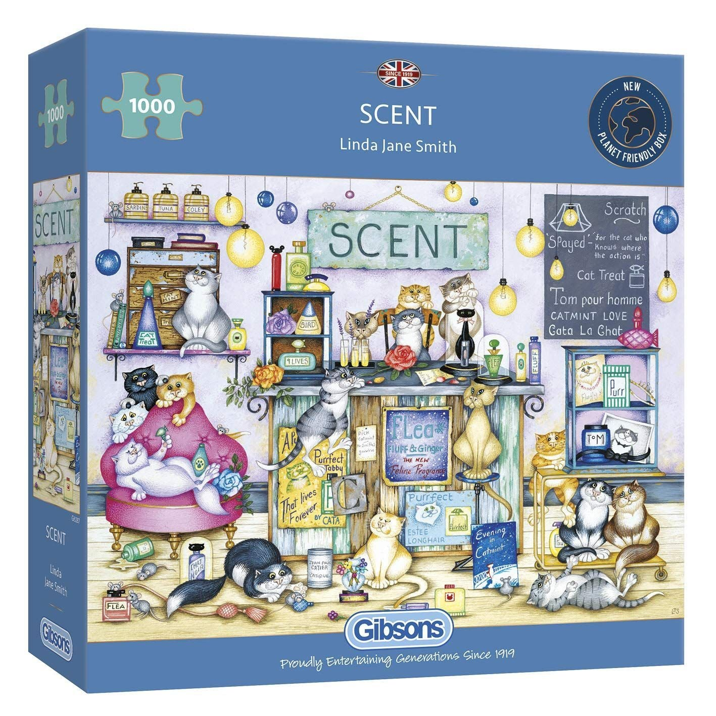 Crazy Cats Scent Jigsaw