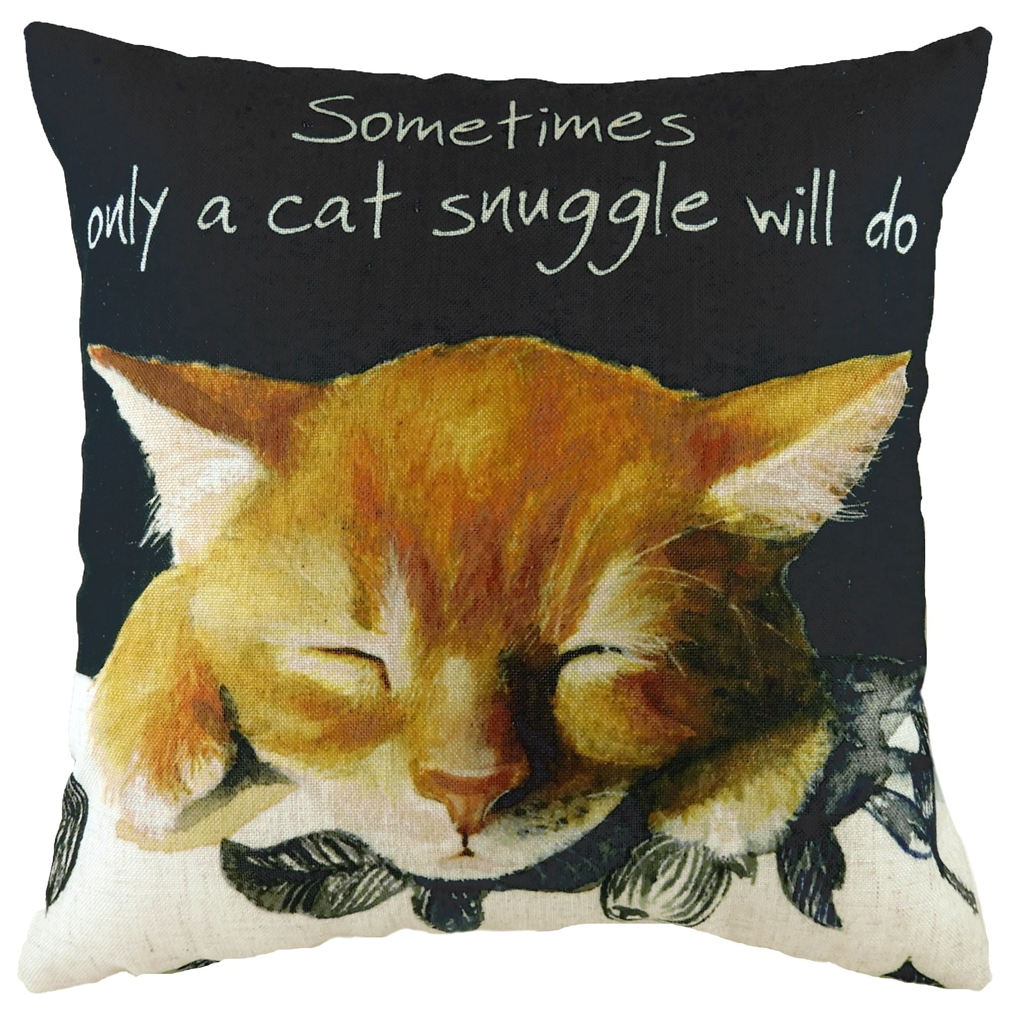 Snuggle Cat Cushion