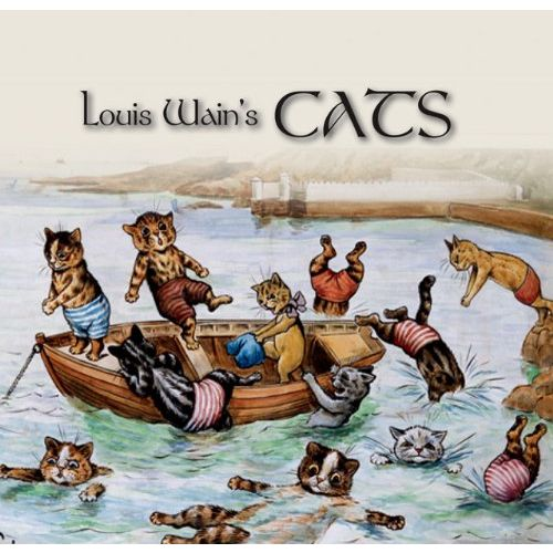 Louis Wain Cats Book