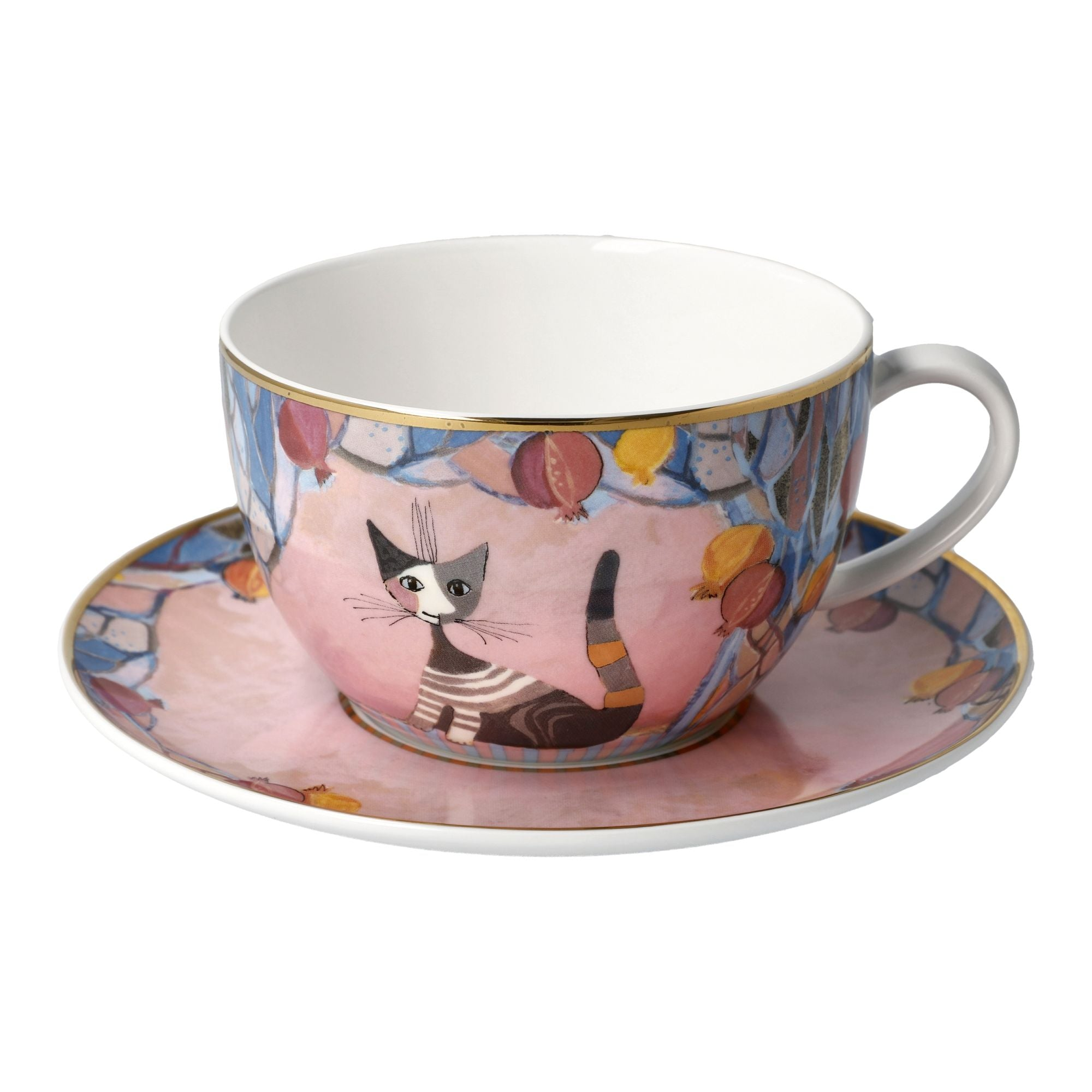 Melograni in festa cup & saucer