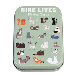 Nine Lives Playing Cards