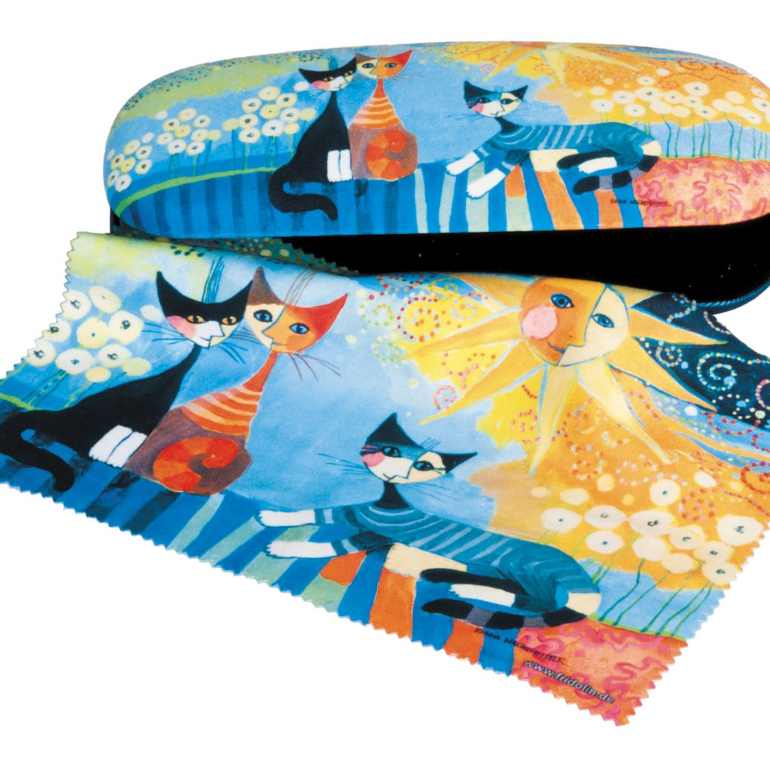 Rosina glasses case and cloth