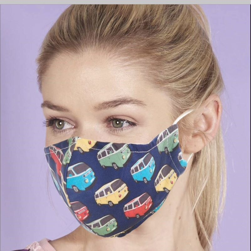 Reusable Face Cover, Camper Vans