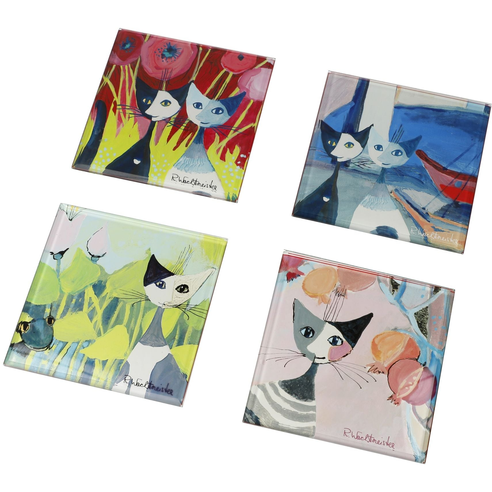 Rosina Wachtmeister Glass Coasters