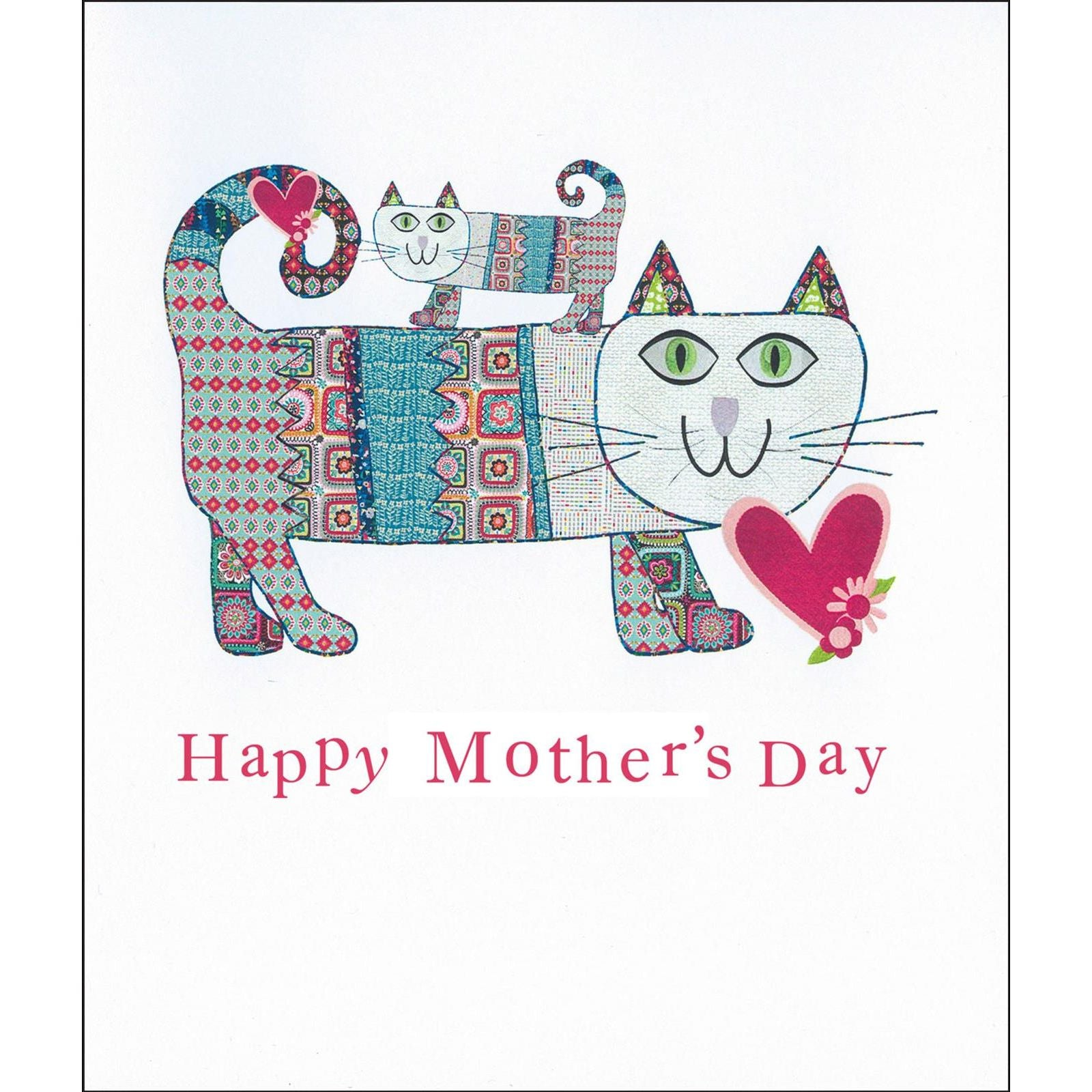 Happy Mothers Day Cat Card 2