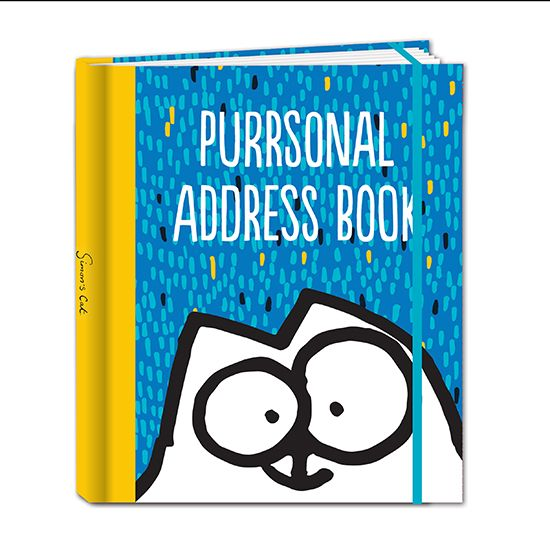 Simons Cat Address Book