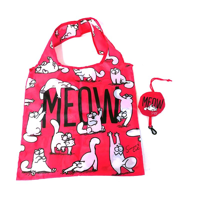 Simons Cat Meow Packable Bag