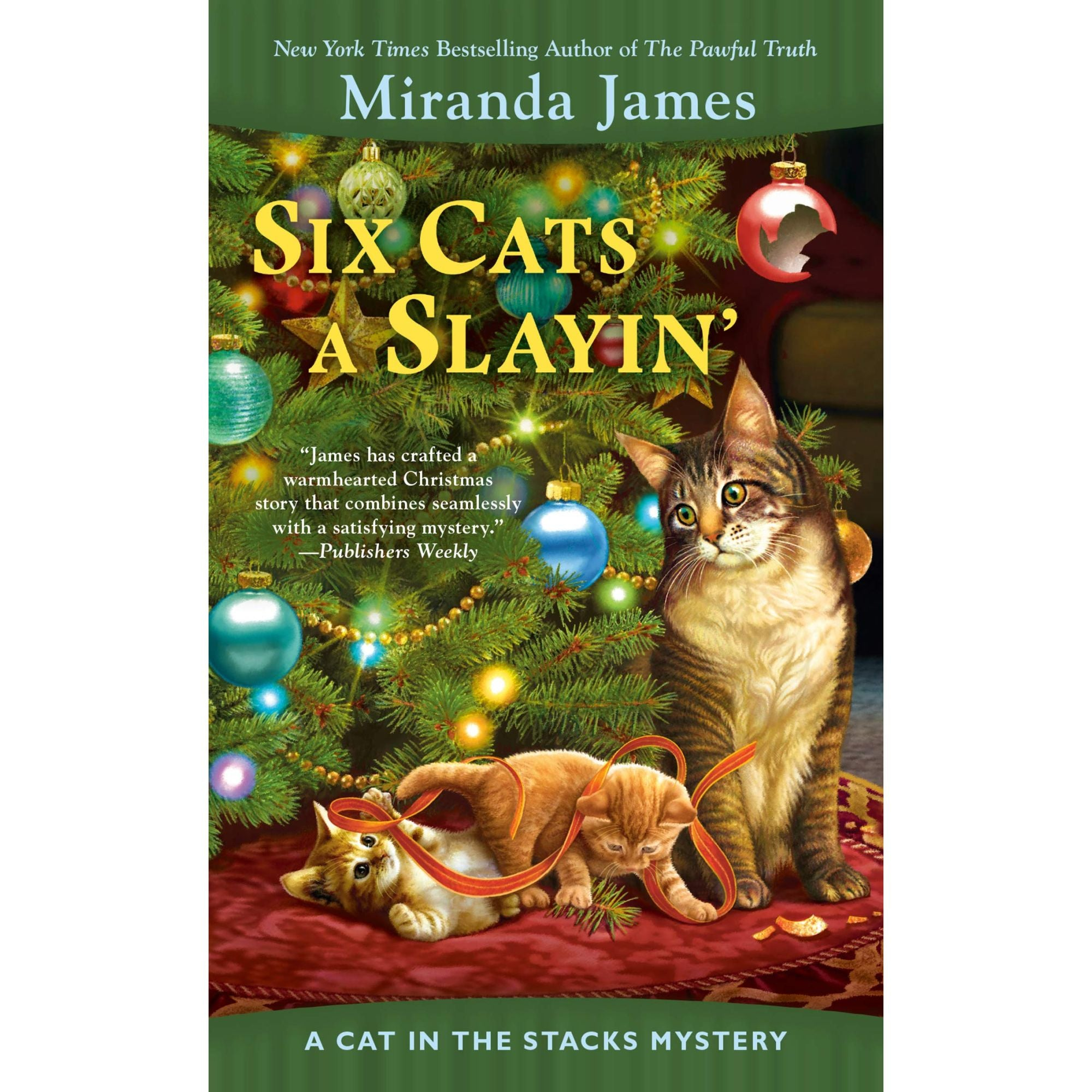 Miranda James Six Cats a Slayin