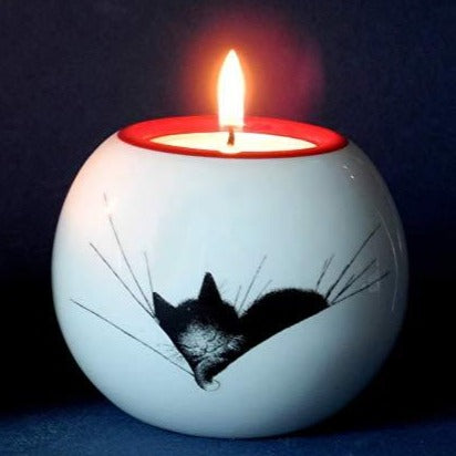 Sleepyhead Candle Holder