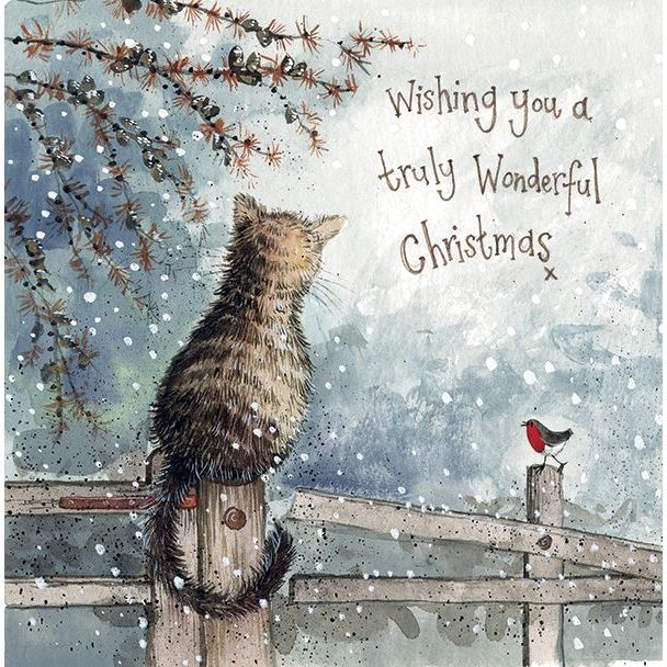 Snow is Coming Alex Clark Christmas Card Pack