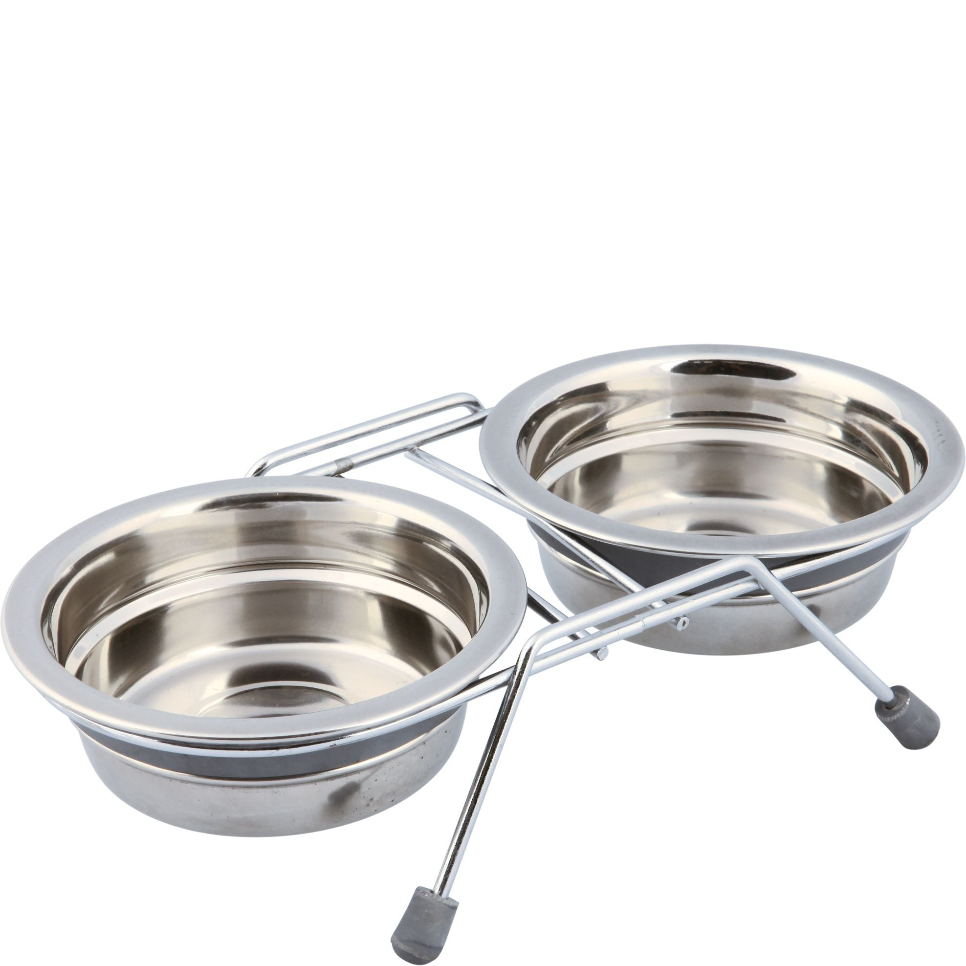 Stainless Steel Silent Double Diner