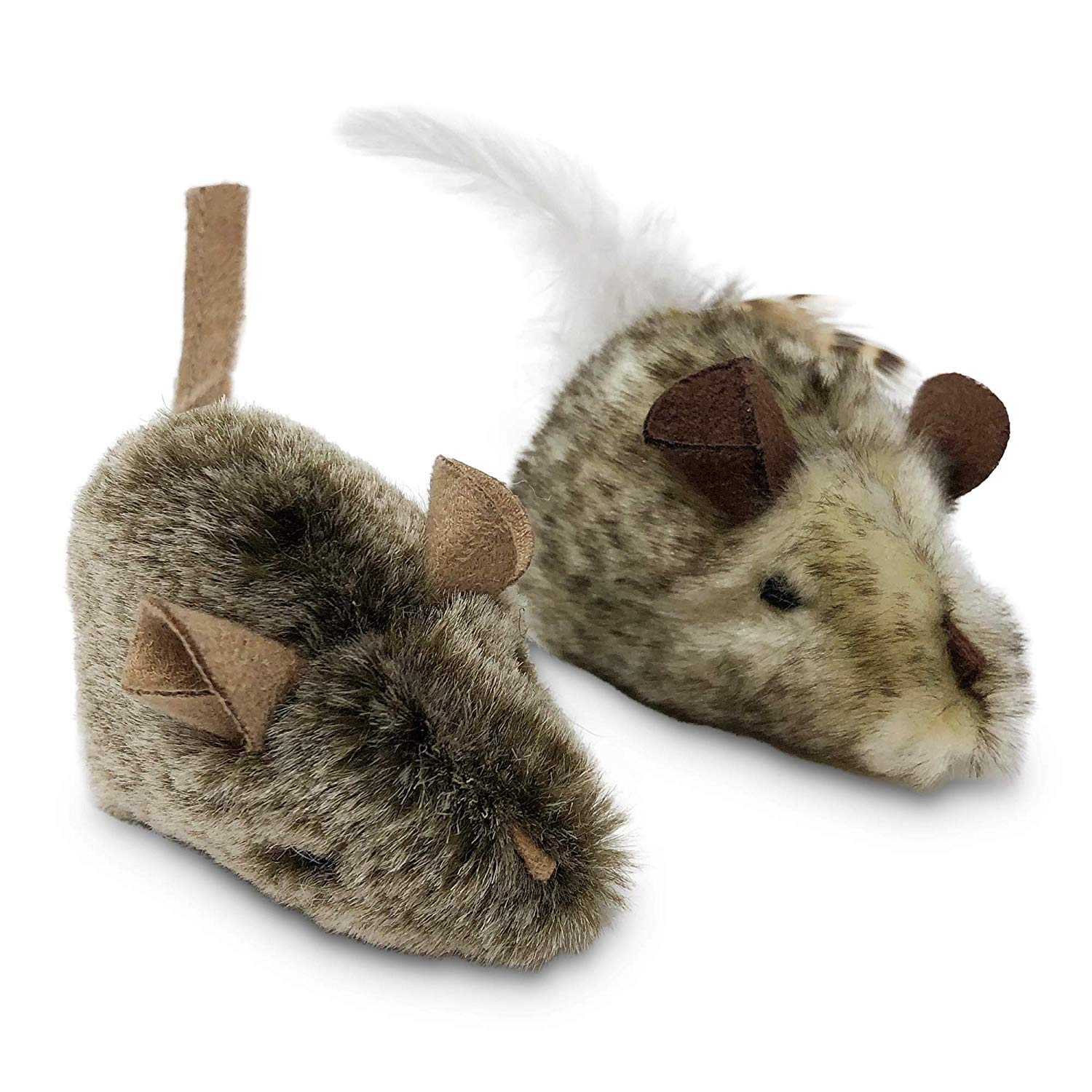 Twice the Mice Squeak Toy
