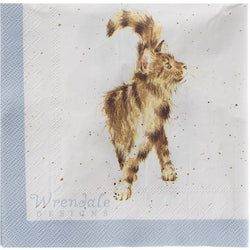 Wrendale Cat Napkins