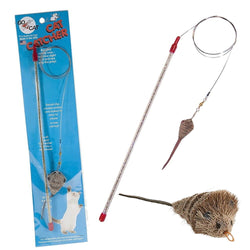 Cat Catcher wand toy for cats