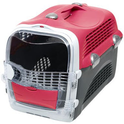 Hagen Catit Cabrio Carrier in Cherry Red