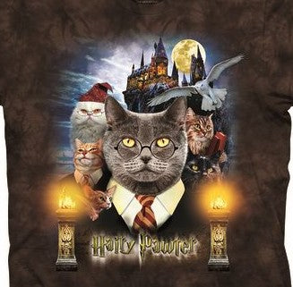 Hairy Pawter Cat T-Shirt