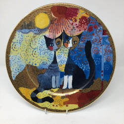 Vintage Rosina Wachtmeister Decorative Plate - Romantico