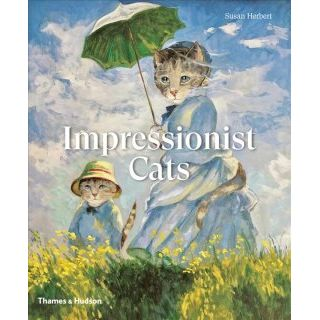 Impressionist cats Susan Herbert soft cover