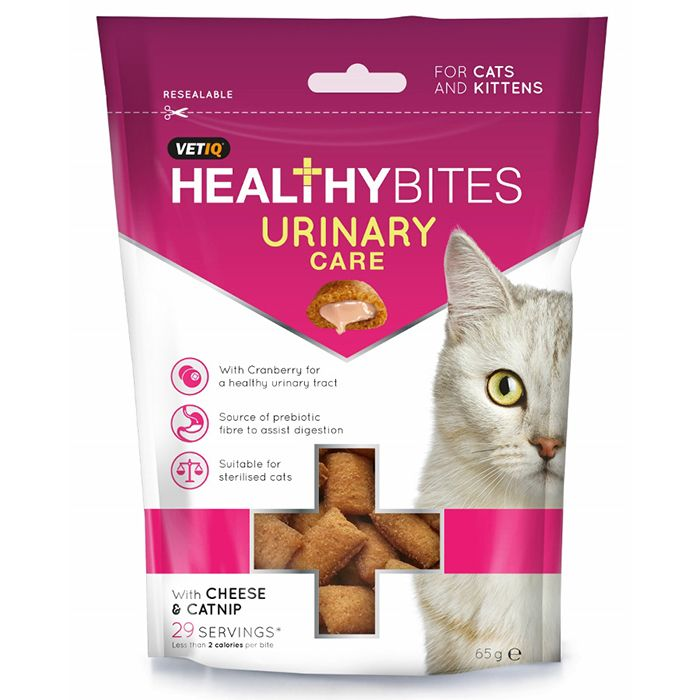 Vet IQ Healthy Bites Urinary Care Cat Treats
