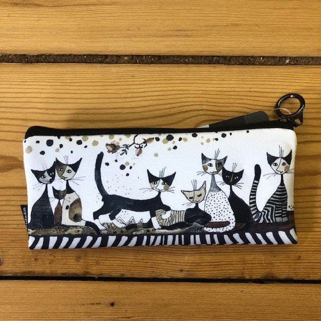 Sepia cats pencil case rosina wachtmeister