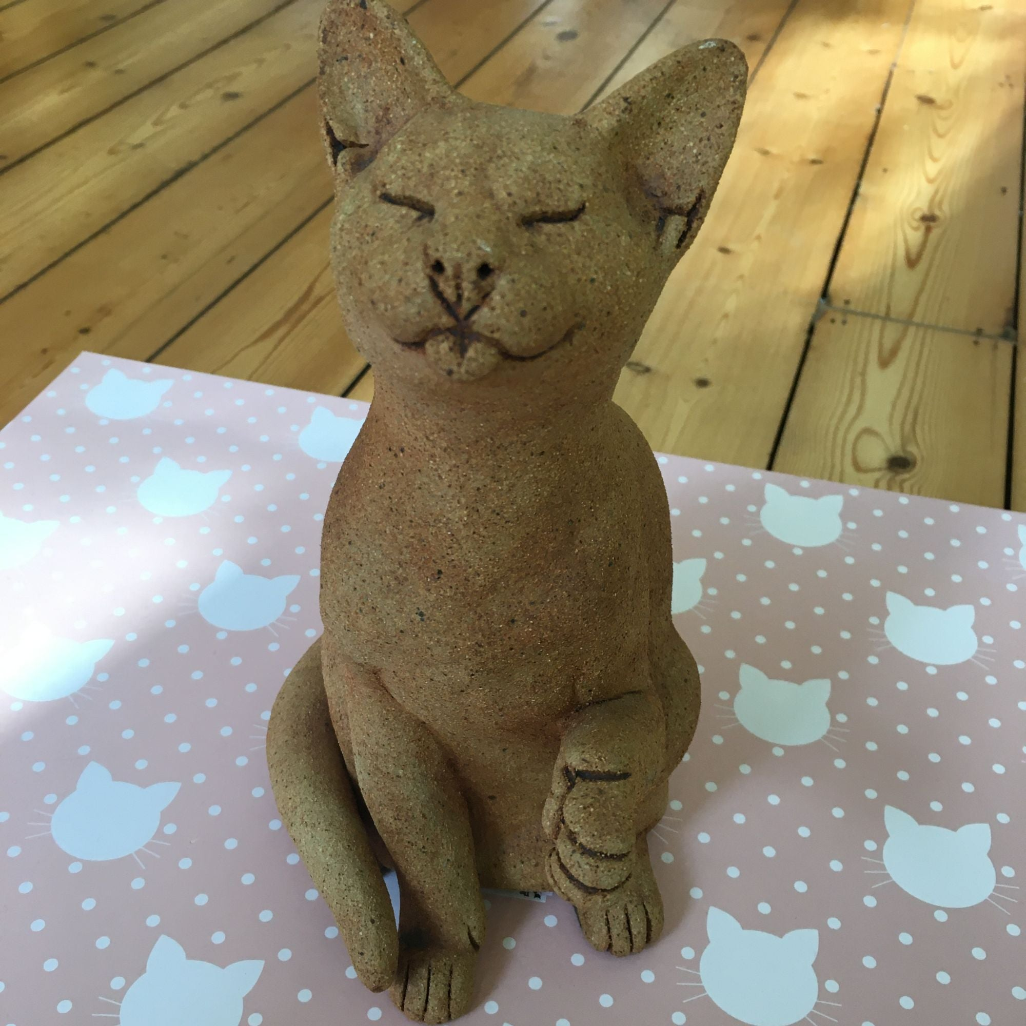 Suzie Marsh Ginger limited edition cat - vintage