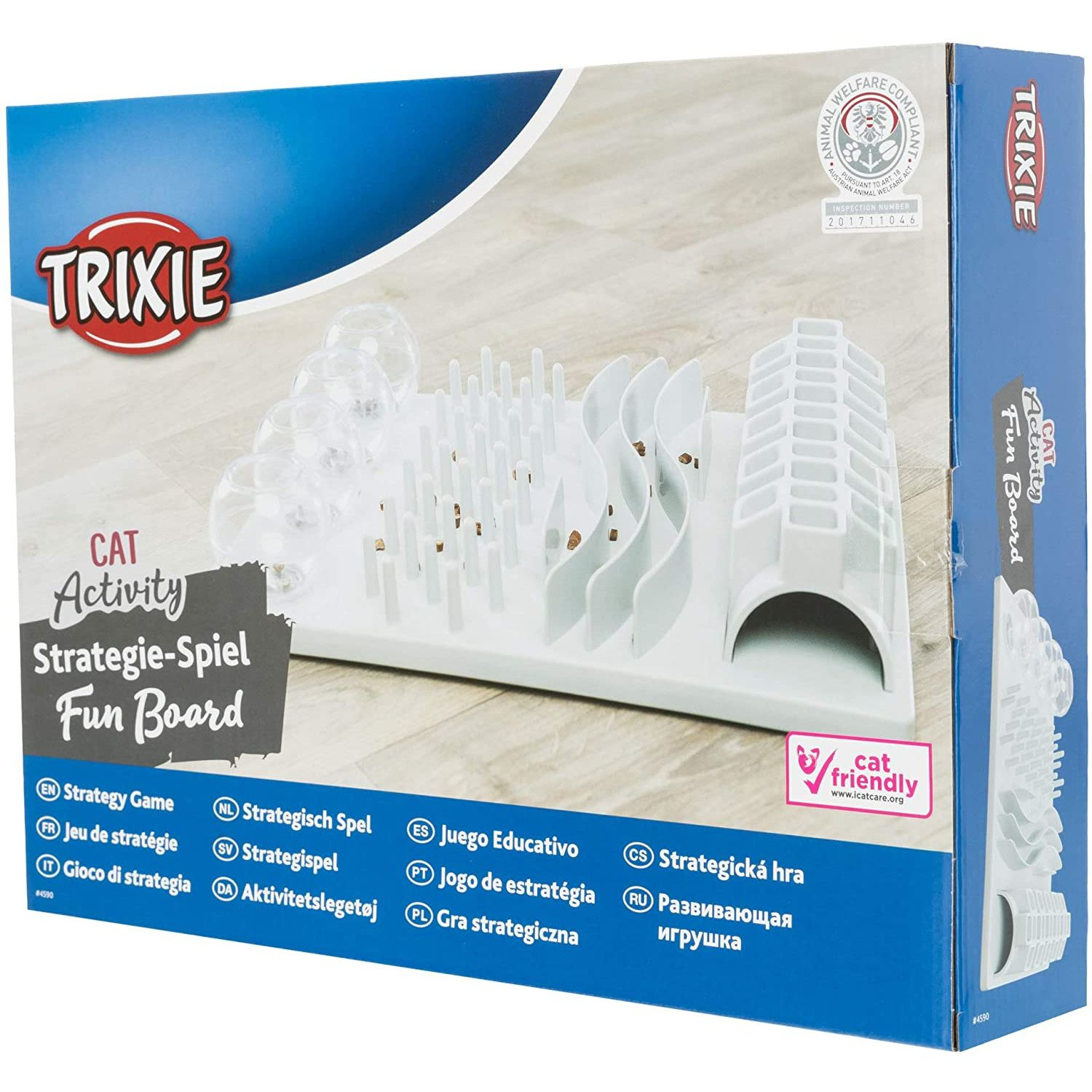Trixie Cat Activity Fun Board - Cat Friendly Award Winner!