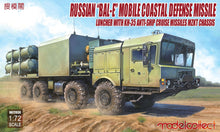 Load image into Gallery viewer, Modelcollect 1/72 Russian BAL-E Missile System MZKT Chassis UA72030