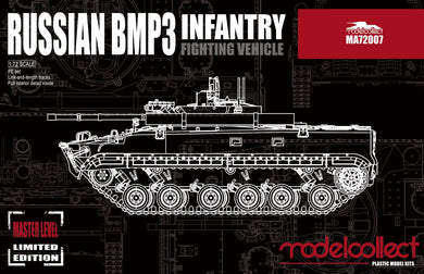 Modelcollect 1/72 Russian BMP3 Infantry Fighting Vehicle (Master Level) MA72007