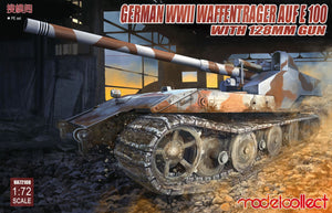 Modelcollect 1/72 German WWII Waffentrager Aufe E-100 with 128mm Gun UA72018