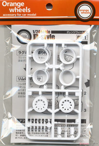"Asuka 1/24 ""Orange Wheels"" D-Style OW-1"
