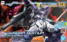Load image into Gallery viewer, Bandai 1/144 HG #016 Gundam Tertium Sid's Mobile Suit Gundam Build Divers 5058918