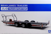 Load image into Gallery viewer, Aoshima 1/24 Brian James Trailers A4 Transporter Trailer 05260