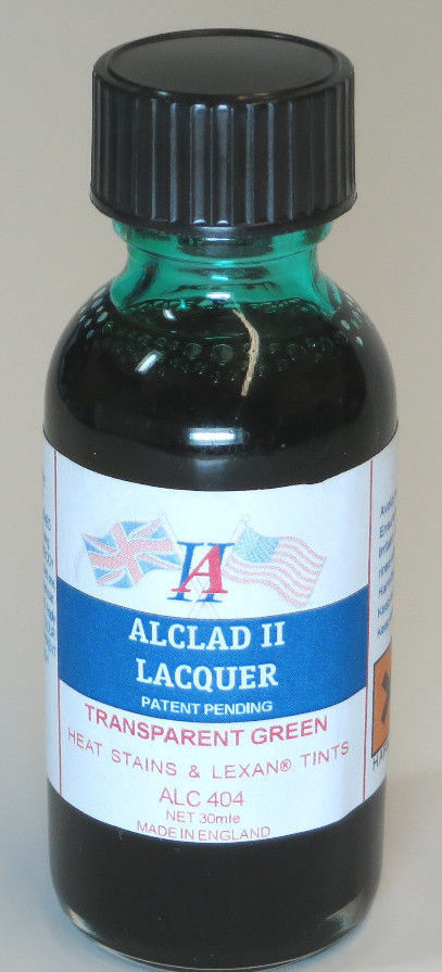 Alclad ALC404 1oz. Transparent Green Lacquer Paint