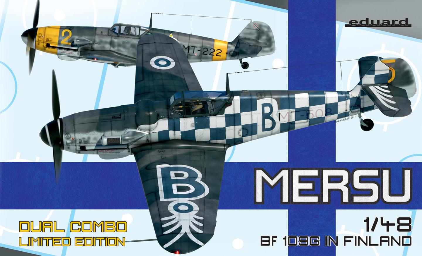 Eduard 1/48 German Bf109G in Finland Dual Combo Pack ED11114