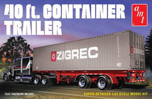 AMT 1/24 40' Container Trailer AMT1196